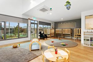 kids playing room of nido child care centre at grovedale
