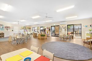 playing area for kids of nido child care centre in westmeadows
