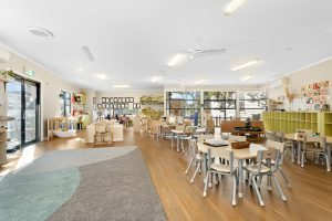 activity room for kids of nido child care centre in westmeadows