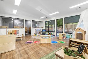 children play area of nido child care centre at kensington park