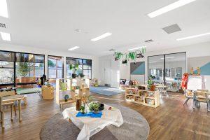 beautiful interior of nido child care centre at kensington park