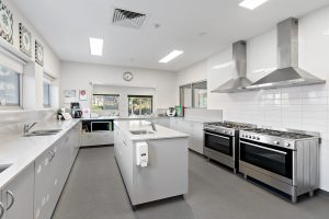 kitchen image of nido child care centre at blakeview