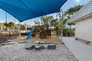 outside playing area image of nido child care centre at blakeview