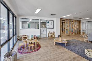 inside view of nido child care centre at elizabeth vale