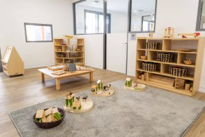children seating area of nido child care centre at Bassendean