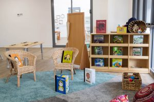 interior view of nido child care centre at Bassendean