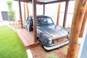 a jeep car interior design of nido child care centre at Bassendean