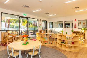 beautiful look inside the nido child care centre at balcatta