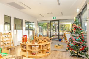 seating view of nido child care centre at balcutta