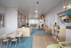 playing area for kids of nido child care centre in woolloongabba
