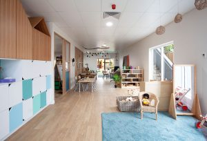 activity room for kids of nido child care centre in woolloongabba