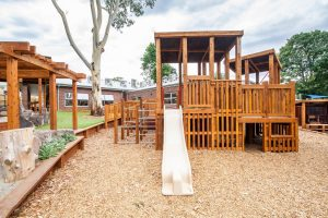 playground for kids of nido child care centre at montrose