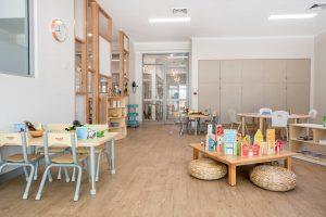 interior view of nido child care centre at carlisle