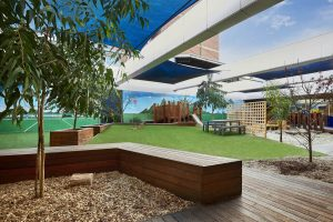 beautiful open sky view image from nIdo child care centre at glenroy