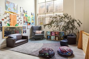 playing area for childrens of nido child care centre in prahran