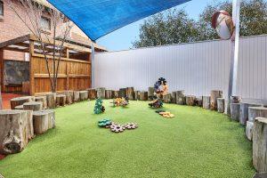 open ground image of nido child care centre in prahran