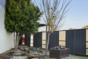 outside playing area image of nido child care centre at dandenong south