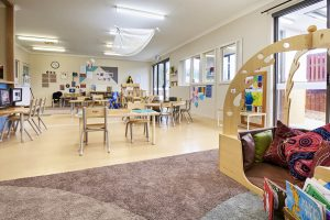 playing rooms for kids of nido child care centre at lara