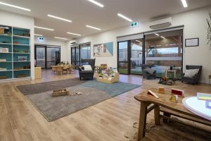 activity room for kids of nido child care centre in ocean grove