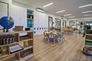 activity room for children of nido child care centre in ocean grove