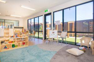 interior view of nido child care centre fulham