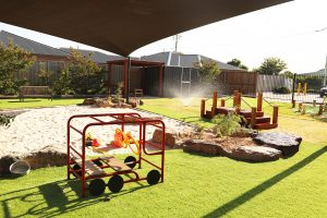 beautiful outside view of nido child care centre at grovedale