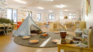 play area view of nido child care centre in baldivis