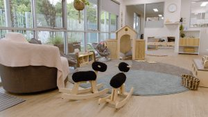 playing area for kids of niido child care centre greenwood