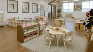 interior image of nido child care centre at lakelands