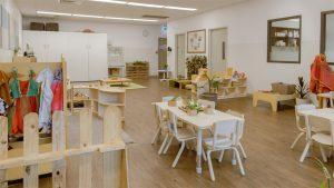 kida sitting area image of nido child care centre at lakelands