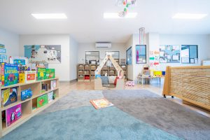 inside playing area view of nido child care centre at altona meadows