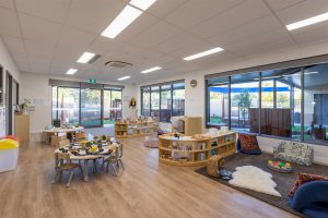 seating area view of nido child care centre at baldivis east