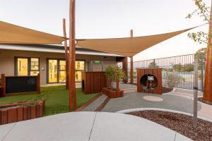 outside image of nido child care centre at craigie
