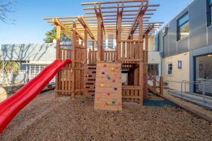 playground for kids of nido child care centre at moonee valley