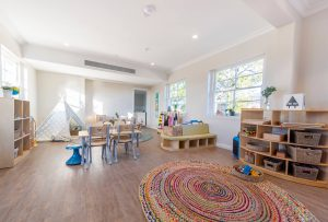 children activity room view of nido child care centre at moonee valley