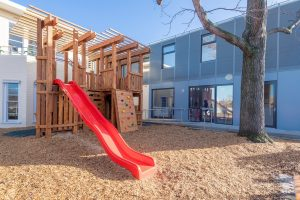 beautiful playgroung view of nido child care centre at moonee valley