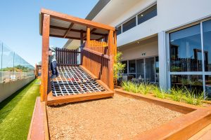 beautiful outside view of nido child care centre in willetton