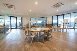 activity room for kids of nido child care centre in port melbourne