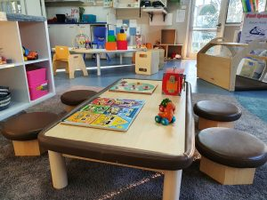children activity table image of nIdo child care centre in rowville