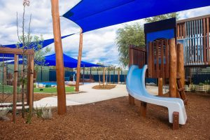 gardern view of nido child care centre at baldivis south