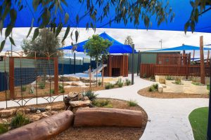 beautiful outside view of nido child care centre at baldivis south