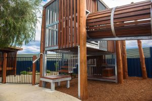 a outside view of nido child care centre at baldivis south
