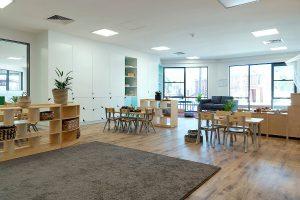 interior of nido child care centre at Aveley