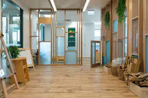 a inside look of nido child care centre at Aveley