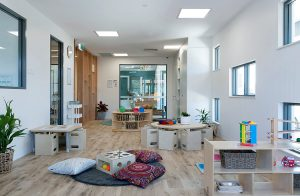inside the nido child care centre at Aveley