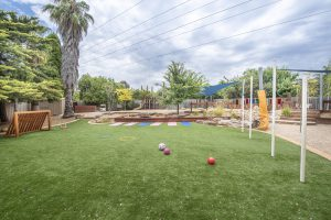 open ground view of nIdo child care centre in templestowe