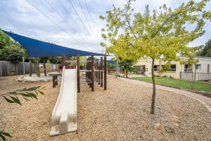 outside playground for kids of nIdo child care centre in templestowe