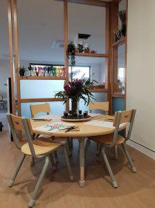 interior image of nido child care centre franklin