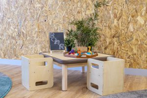 sitting area for kids of nido child care centre in shepparton