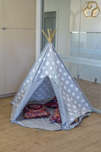 a tent image of nido child care centre in wembley